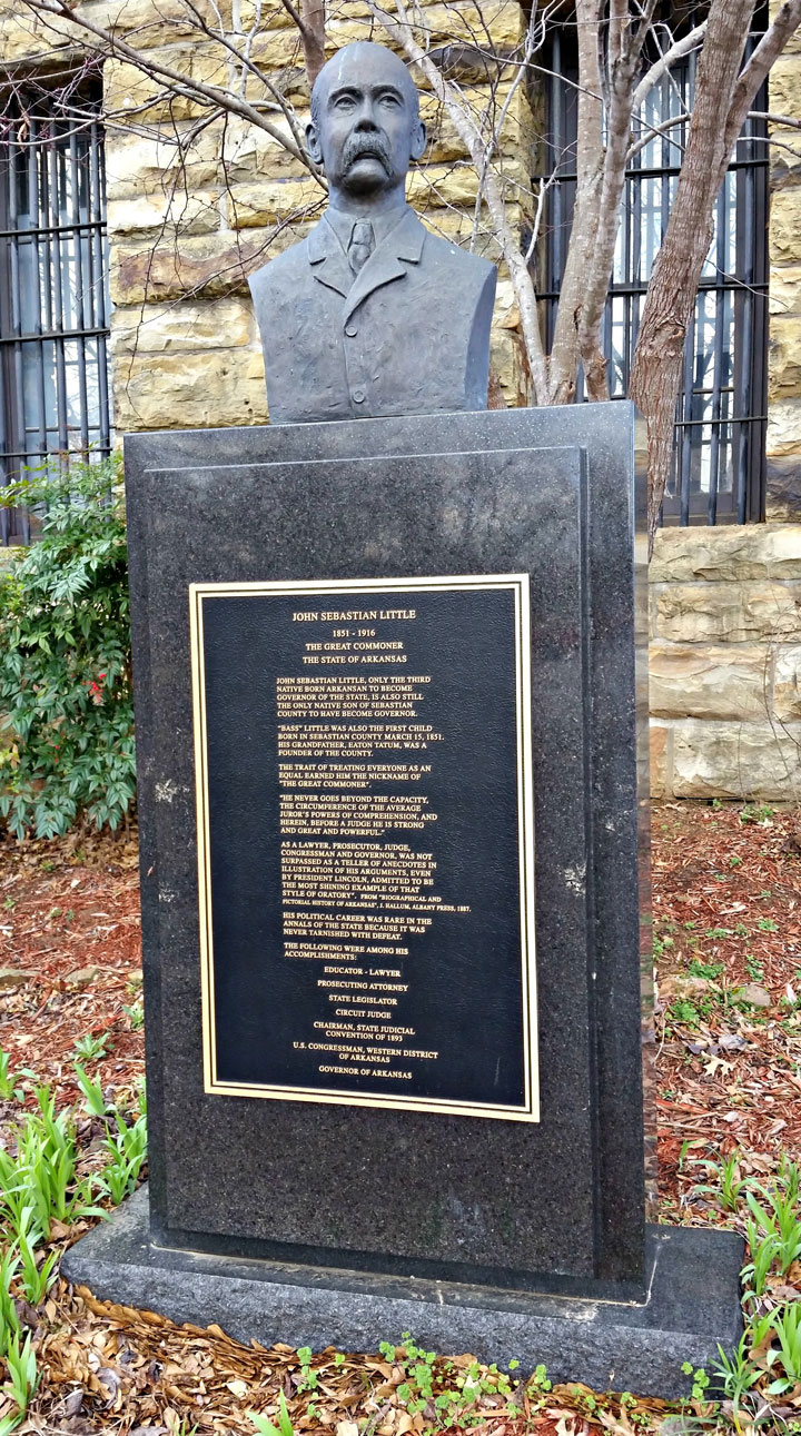 Gov. John Sebastian Little Monument